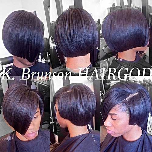 Superb Black Girl Bob Hairstyles 2014 2015 Short Hairstyles 2016 Hairstyles For Men Maxibearus