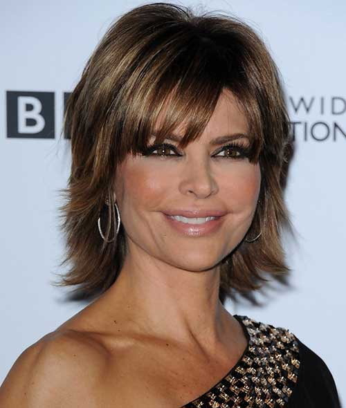 Bob Haircuts with Bangs Women Over 40