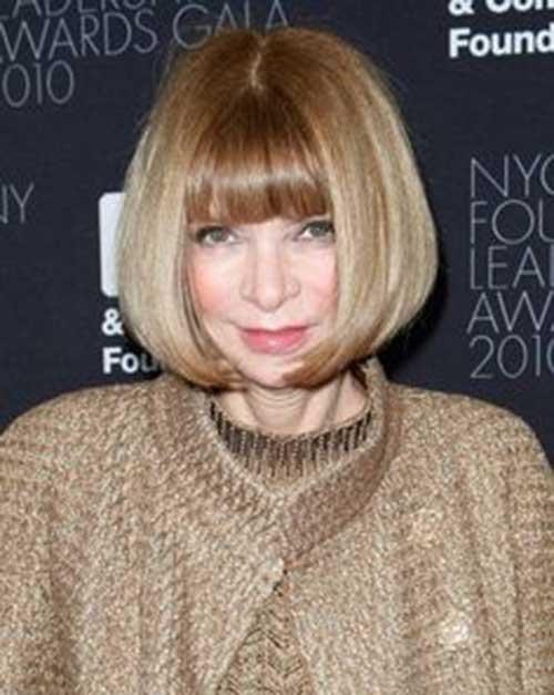 Anna Wintour Bob Hairstyle