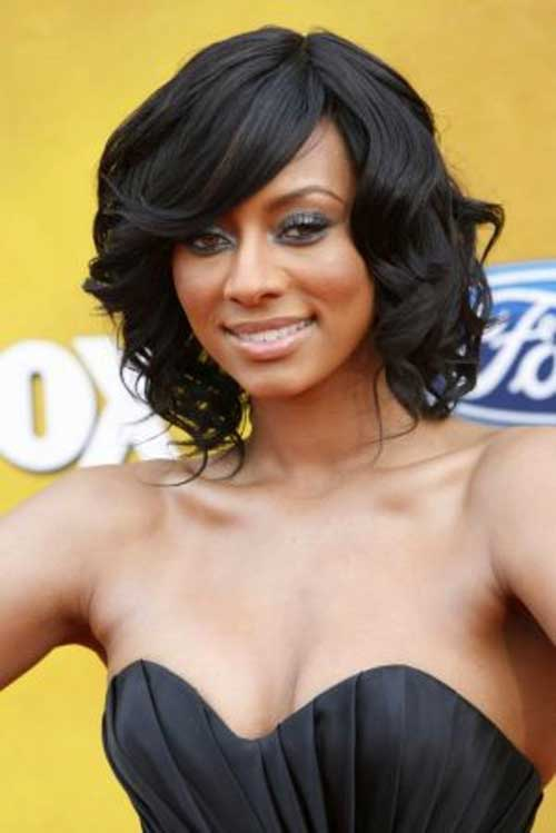 rehanna hair style 15 bob haircuts for black hairstyles 4679 | Bob Hairstyles for Black Women with Medium Length Hair