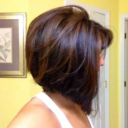 Brown Hair Bob Style