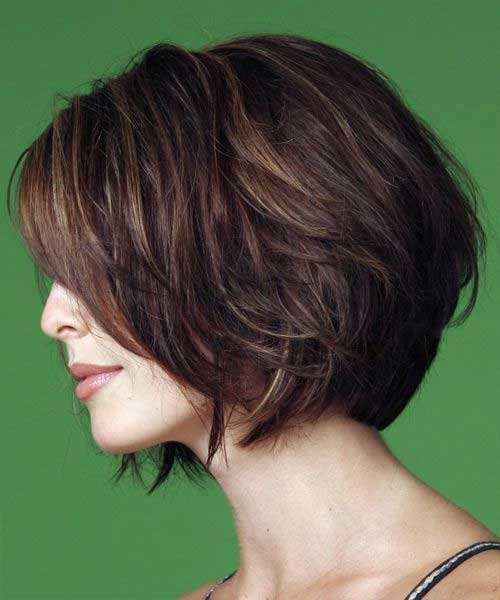 Casual Short Haircuts Women Over 40