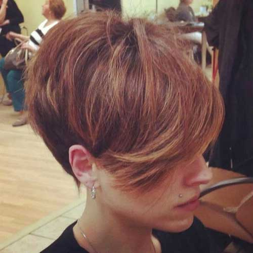 Cool Long Pixie Haircuts for Women