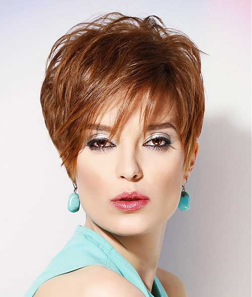 Cool Red Pixie Haircuts for Women