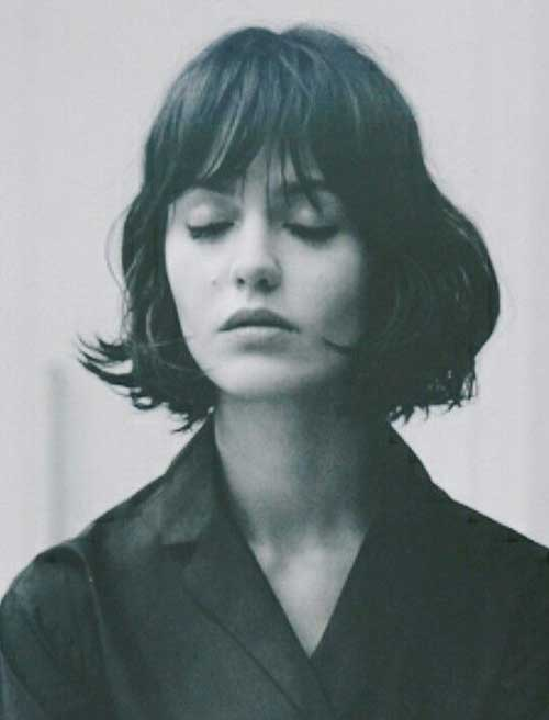 Cool Short Bob Cuts with Bangs