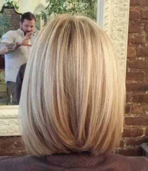 Cool Short Straight Hair Back View