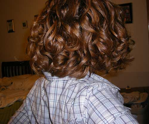 Curly Brown Bob Hair Styles for Women