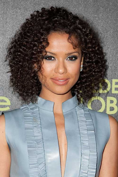 Curly Short Dark Thick Hairstyles