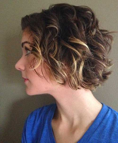 Cute Wavy Curly Hairstyles For Short Hair