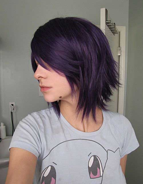 Cute Dark Bob Haircuts 2014