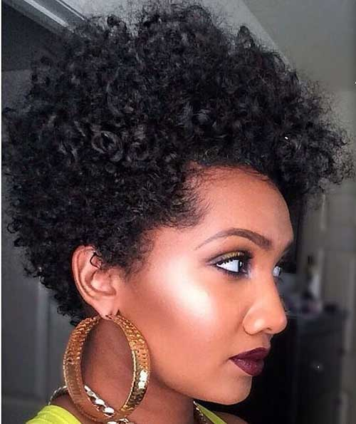 Magnificent 20 Cute Short Natural Hairstyles Short Hairstyles 2016 2017 Hairstyles For Women Draintrainus