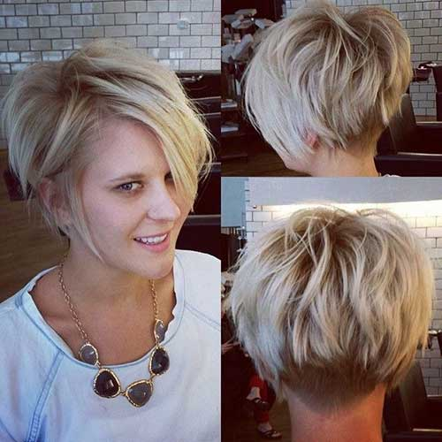 Cute Short Blonde Haircuts Ideas 2014