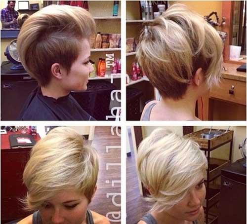 Stupendous Cute Side Shaved Hairstyles Hair Grab Short Hairstyles Gunalazisus