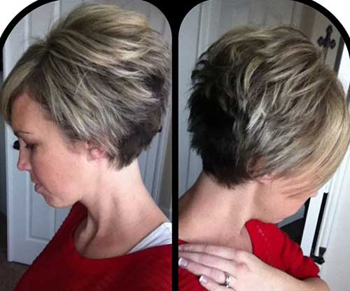 Cute Short Graduated Bob Haircuts for Girls