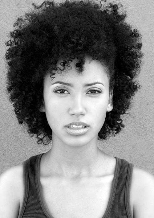 Cute Short Natural Afro Hairstyles