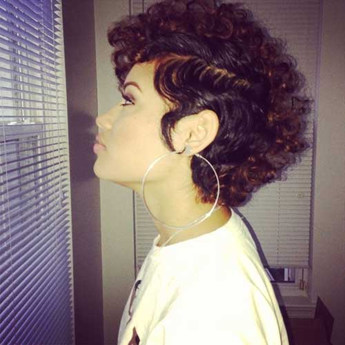 Amazing 20 Cute Short Natural Hairstyles Short Hairstyles 2016 2017 Hairstyles For Women Draintrainus