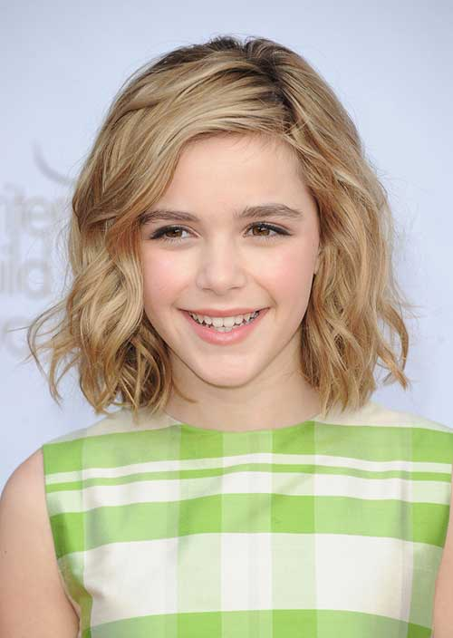 Cute Short Wavy Blonde Hair Cuts for Girls