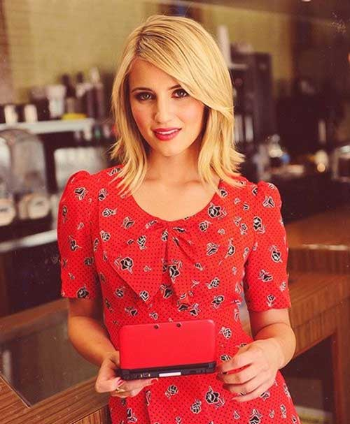 Dianna Agron Best Short Hair