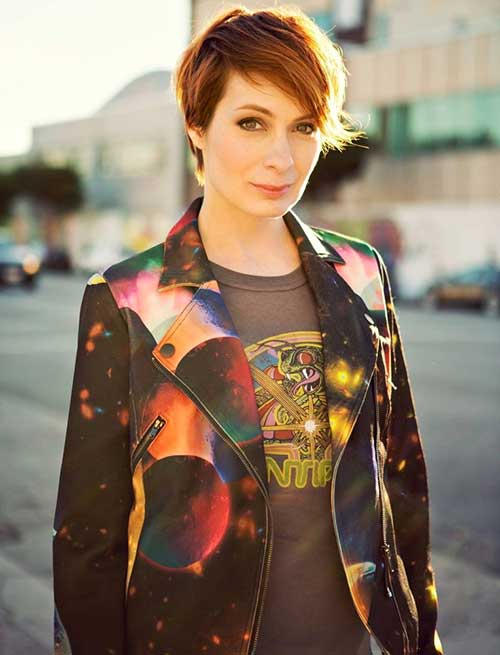 Felicia Day Short Haircuts
