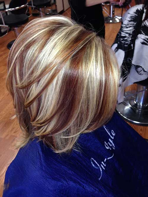Haircuts for Short Highlighted Hair Ideas