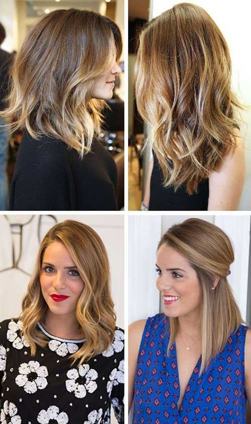 Hairstyles Ideas for Short to Mid Length Hair