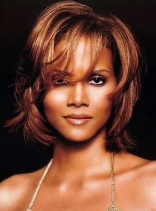 Halle Berry Bob Cut