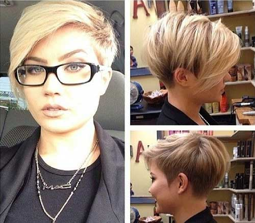 Best Hottest Short Hairstyles 2015