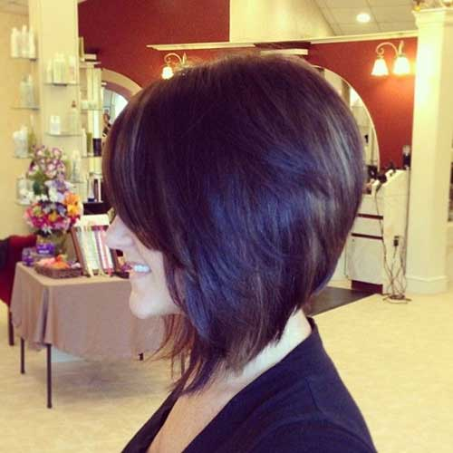 Inverted Bob Short Shoulder Length Hair