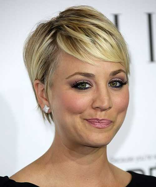 Best Kaley Cuoco Short Hair
