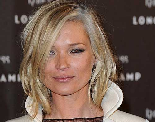 Best Kate Moss Short Hair