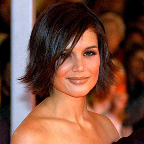 Pleasing Good Katie Holmes Bob Haircuts Short Hairstyles 2016 2017 Hairstyles For Men Maxibearus