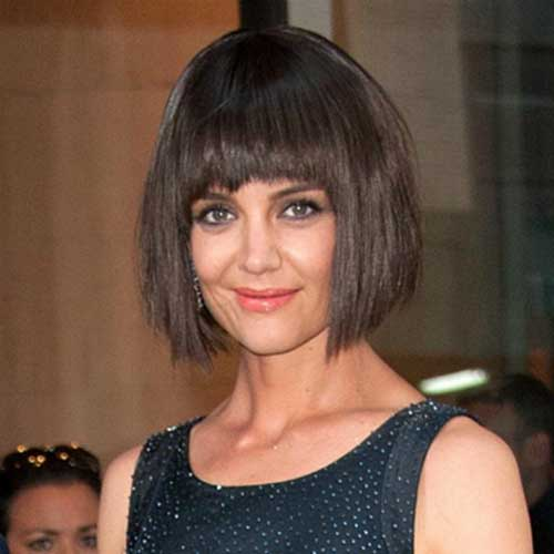 Super Good Katie Holmes Bob Haircuts Short Hairstyles 2016 2017 Short Hairstyles For Black Women Fulllsitofus