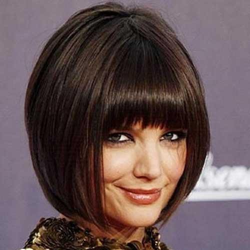 Superb Good Katie Holmes Bob Haircuts Short Hairstyles 2016 2017 Short Hairstyles Gunalazisus