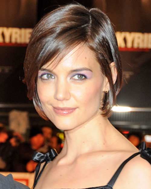 good katie holmes bob haircuts short hairstyles 2017 2018 most popular short hairstyles. Black Bedroom Furniture Sets. Home Design Ideas