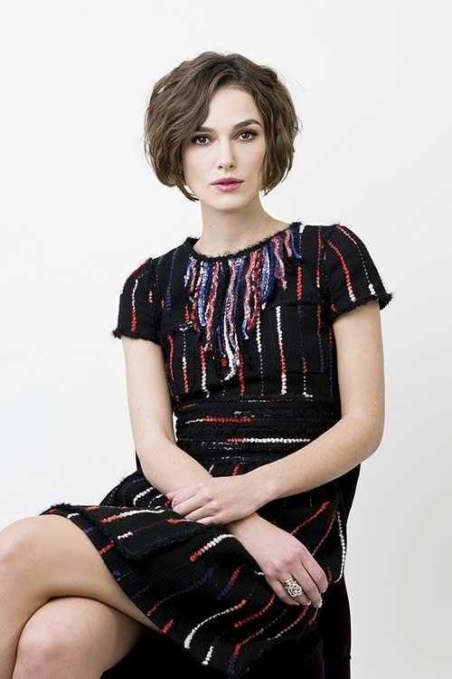 Keira Knightley Hairstyles Short Bob