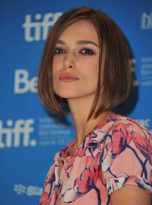 Keira Knightley Medium Bob Haircut