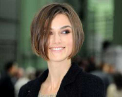 Keira Knightley Short Bob Hairstyle for Women