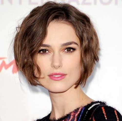 Keira Knighhtley Short Bob Hairstyle