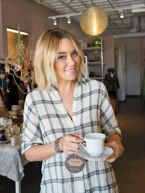 15 Best Lauren Conrad Bob Haircuts Short Hairstyles 2017 2018