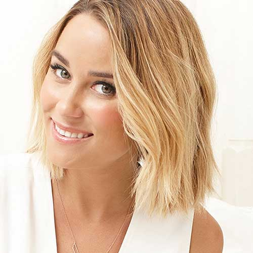 Lauren Conrad with Beach Waves