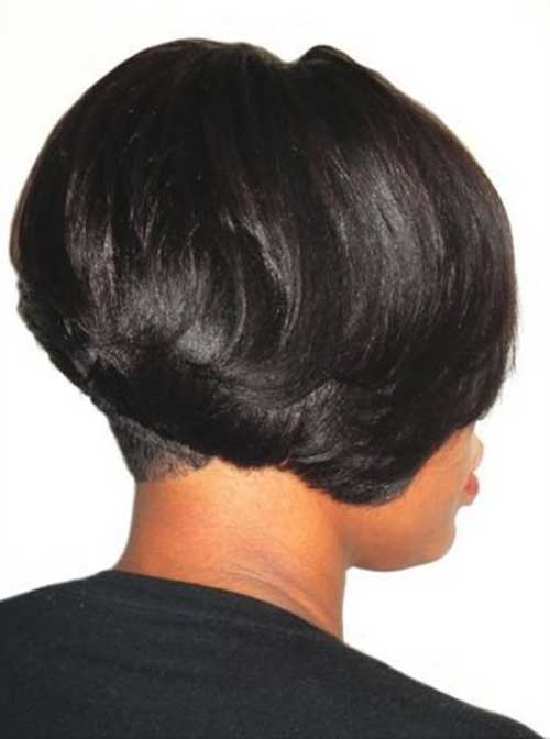 Layered Bob African American Hair