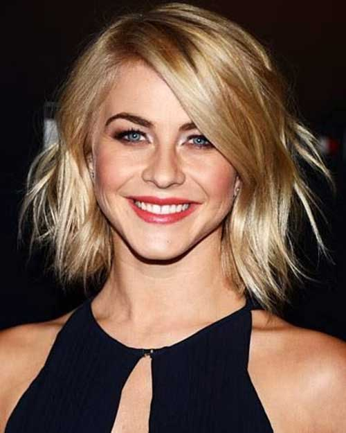 Layered Bobs for Wavy Hair Type Women