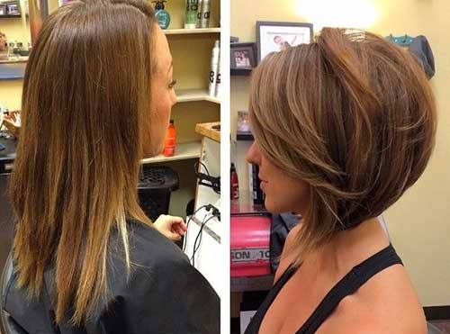 Layered Hairstyles for New Short Hair 2014