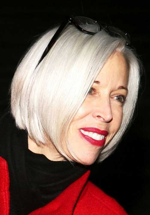 15 Bob Hairstyles For Older Ladies Short Hairstyles 2017