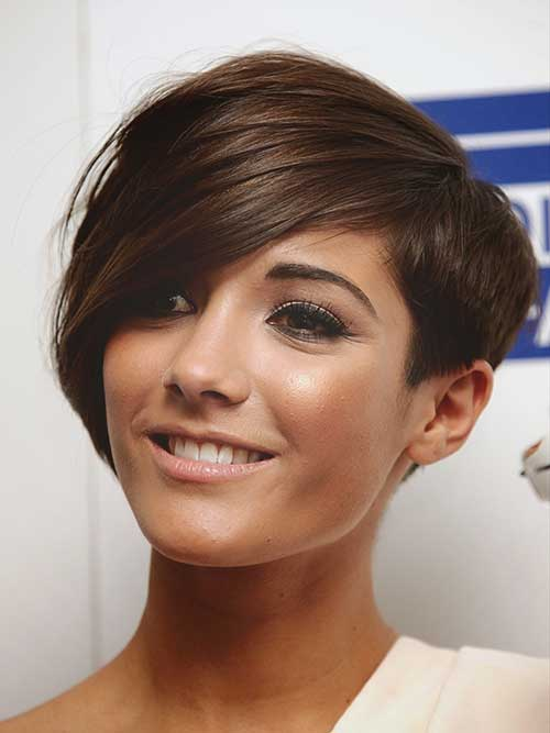 Long Pixie Hair Cuts for Brunettes