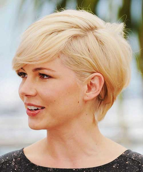 Longer Pixie Haircuts Michelle Williams