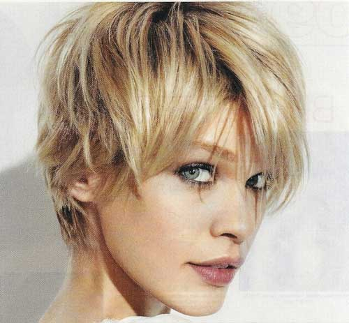Messy Cool Short Pixie Hair