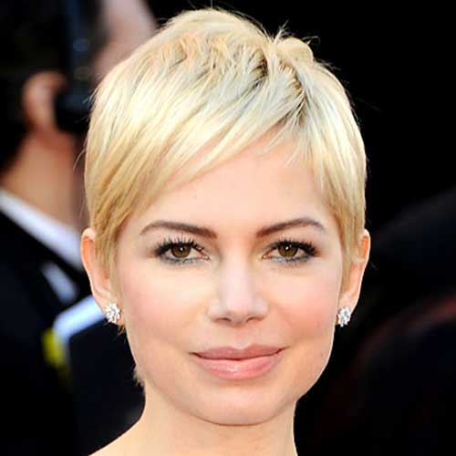 Michelle Williams Blonde Pixie Cuts