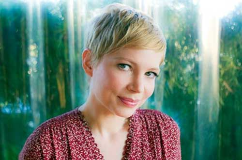Michelle Williams Cute Pixie Hair