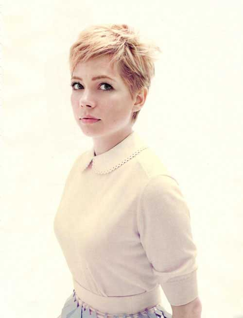 Michelle Williams Pixie Cut 2014-2015